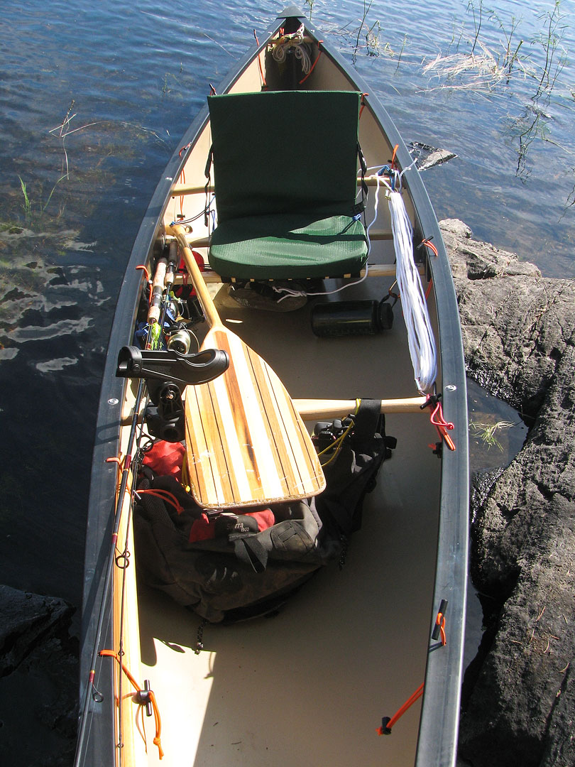 A quetico solo day 8 for Solo fishing canoe